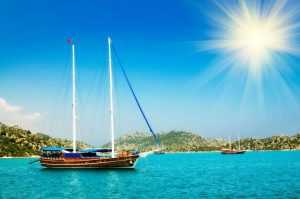 kaş: the paradise adorned with bougainvillea