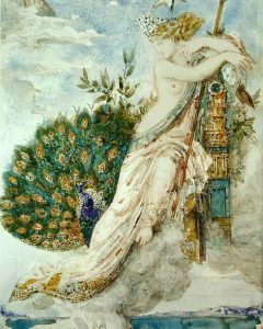 the lady and the peacock