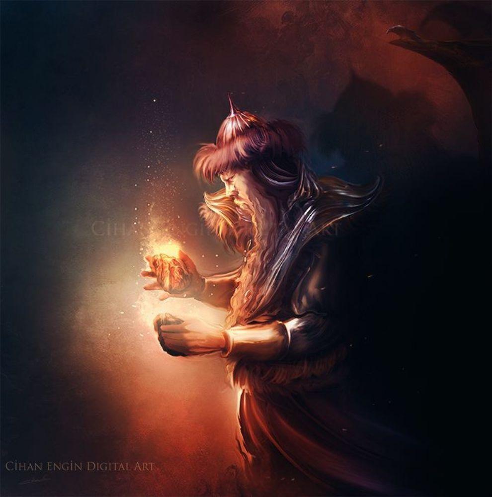 gods and goddesses in turkish mythology